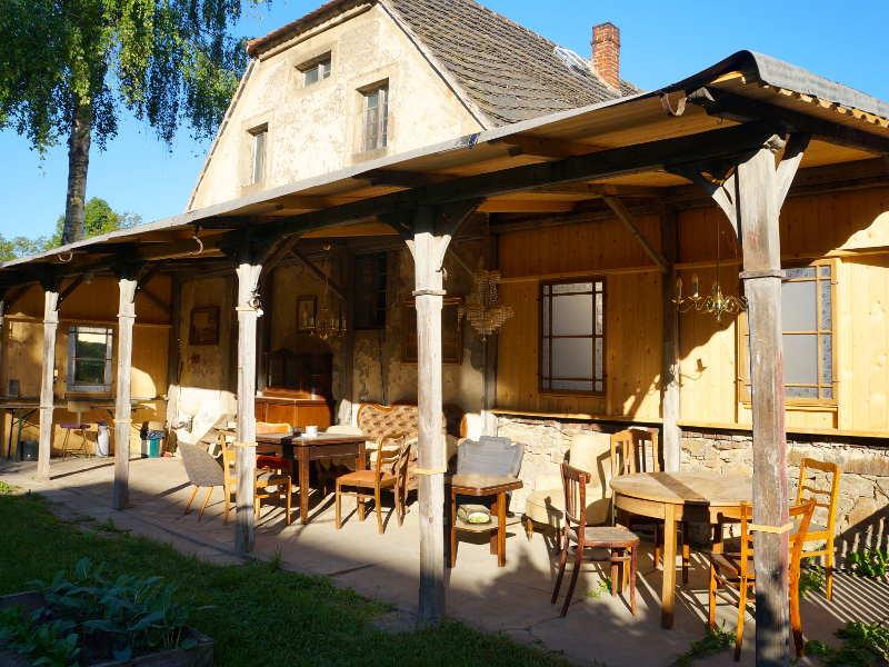 Gartenhaus mit remise - Bauwagen als gartenhaus ...